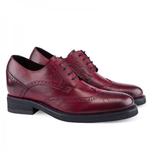 Guido Maggi Andalucia Full Grain Shoes Burnished Bordeaux Image