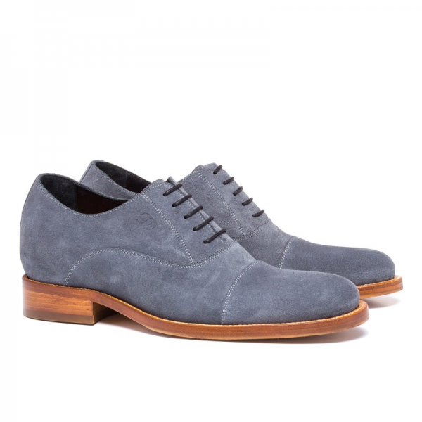 Guido Maggi Cote d'Azur Full Grain Shoes Gray Image
