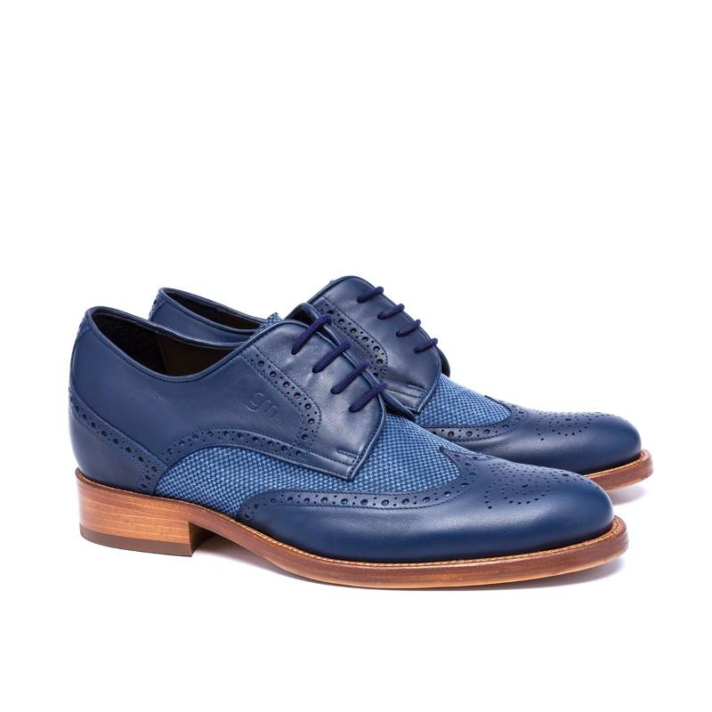 Guido Maggi Dandy Full Grain Shoes Blue Image