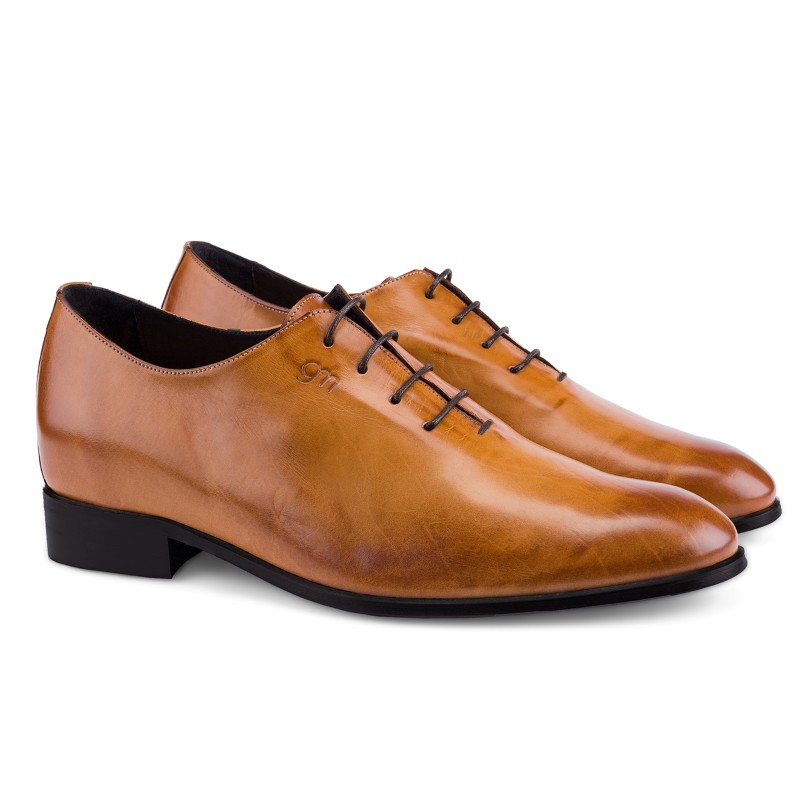 Guido Maggi Doha Full Grain Shoes Burnished Cognac Image