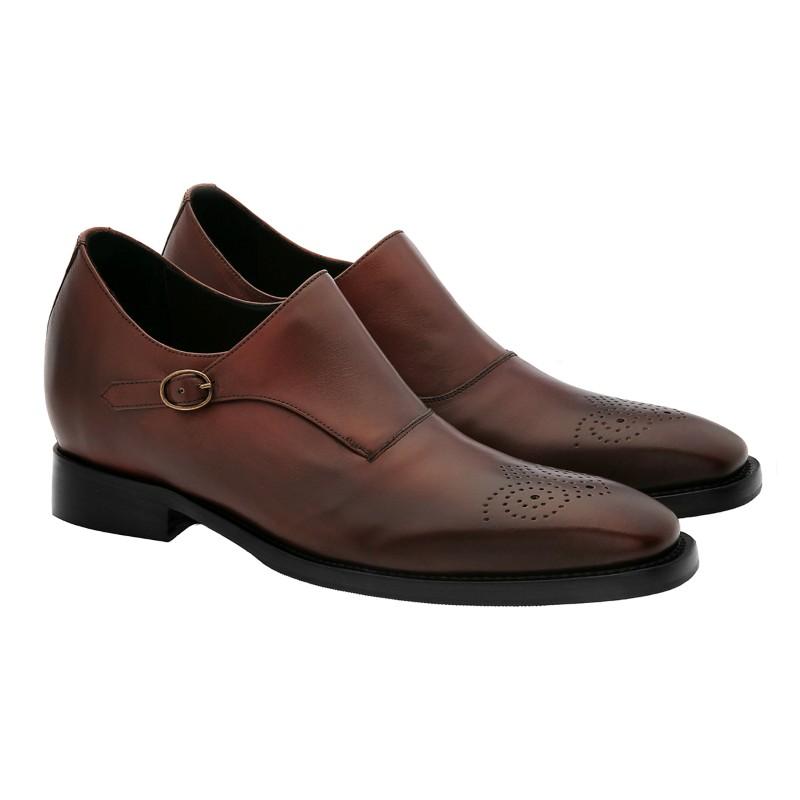 Guido Maggi Michigan Full Grain Shoes Burnished Walnut Brown Image