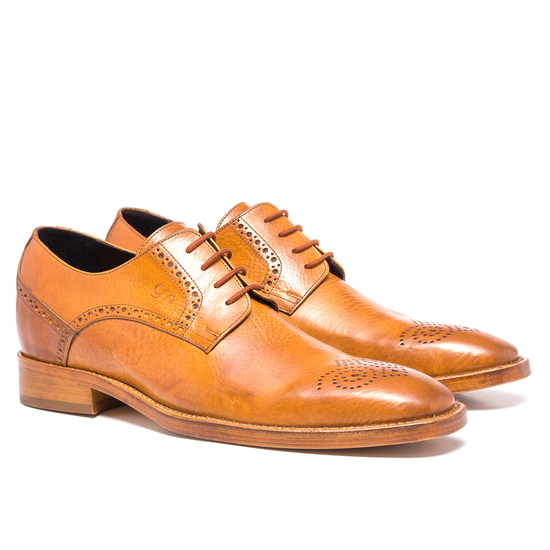Guido Maggi Nippon Full Grain Shoes Cognac Image