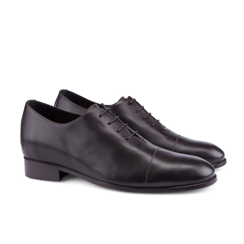 Guido Maggi Oxford Full Grain Shoes Dark Brown Image