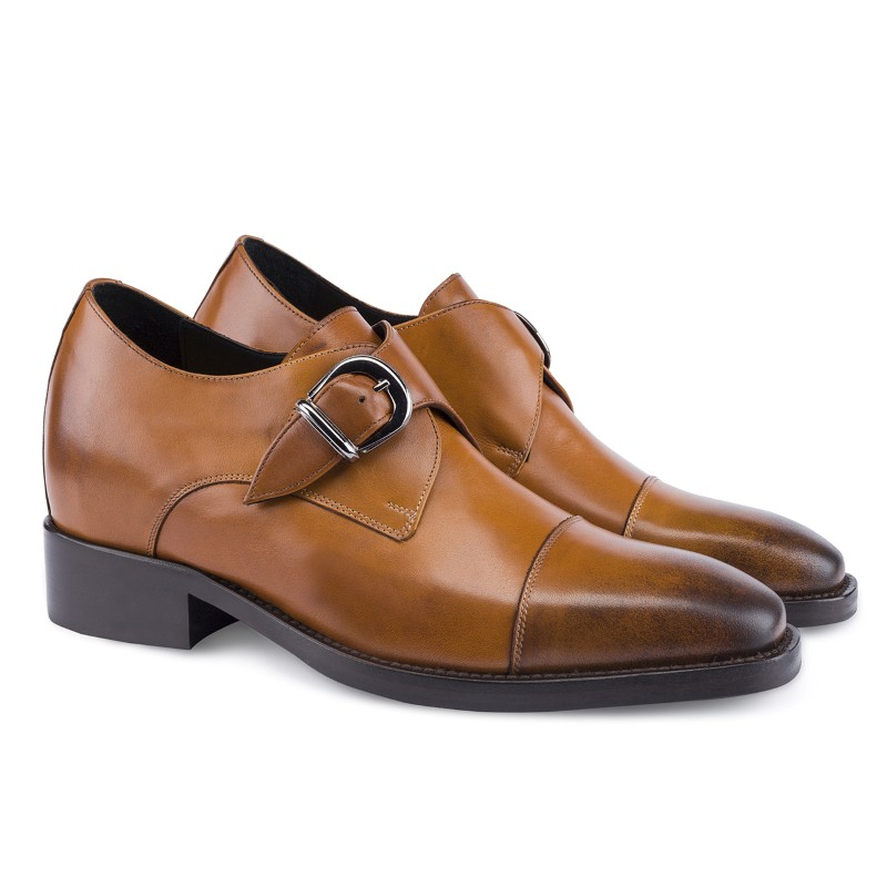 Guido Maggi Phoenix Full Grain Shoes Burnished Cognac Image