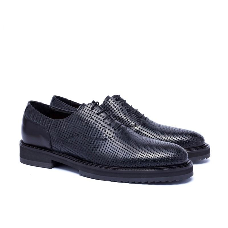 Guido Maggi Riyadh Full Grain Shoes Black Image