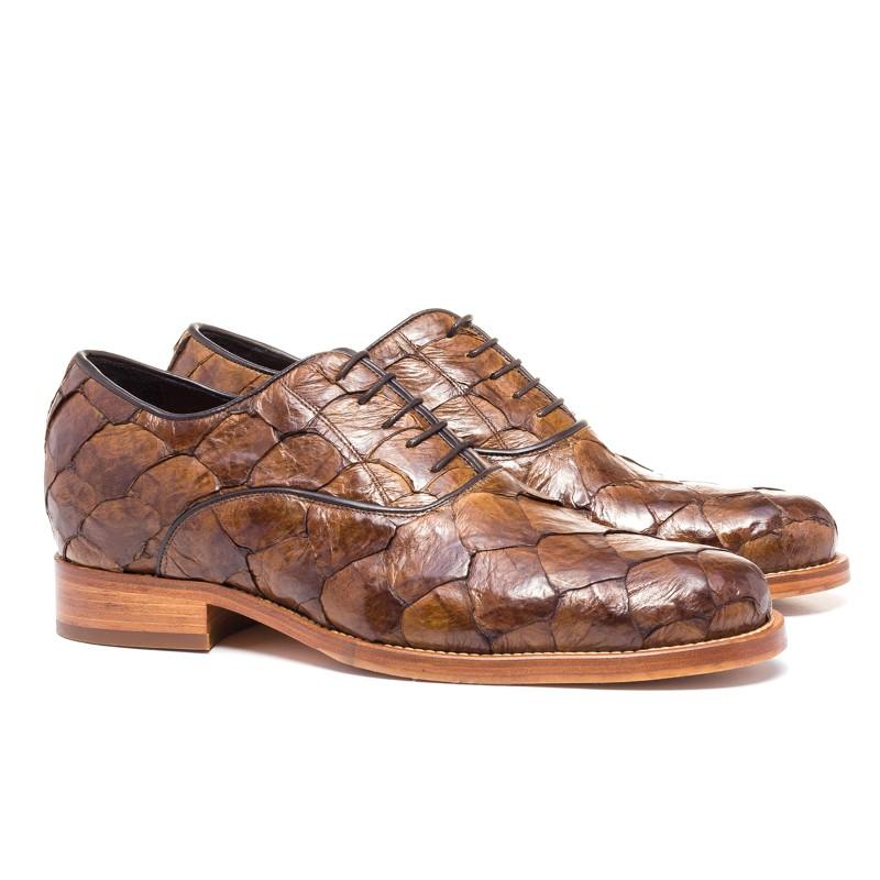 Guido Maggi Rua Oscar Freire Piracucu Leather Shoes Brown Image