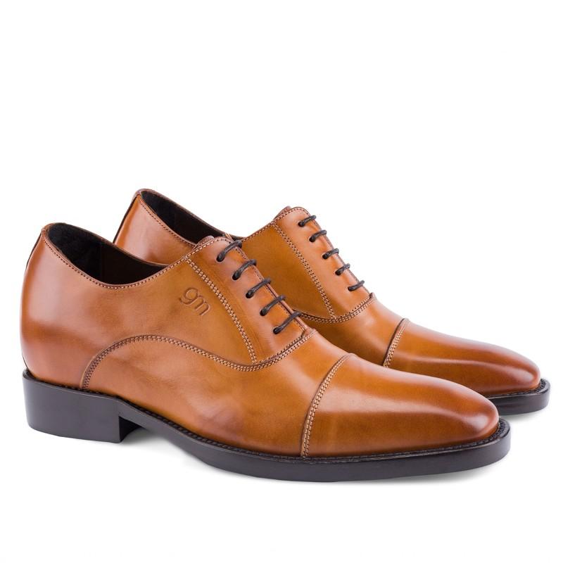 Guido Maggi Salzburg Full Grain Shoes Burnished Cognac Image