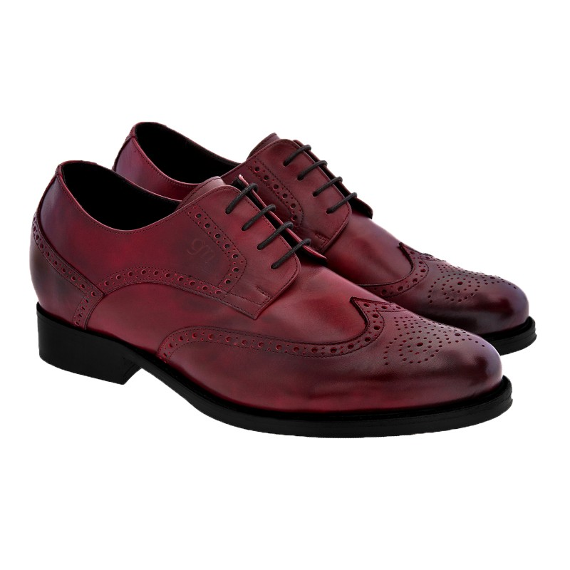 Guido Maggi San Jose Full Grain Shoes Burnished Bordeaux Image