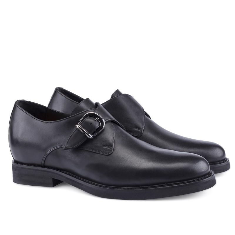 Guido Maggi Santos Full Grain Shoes Black Image