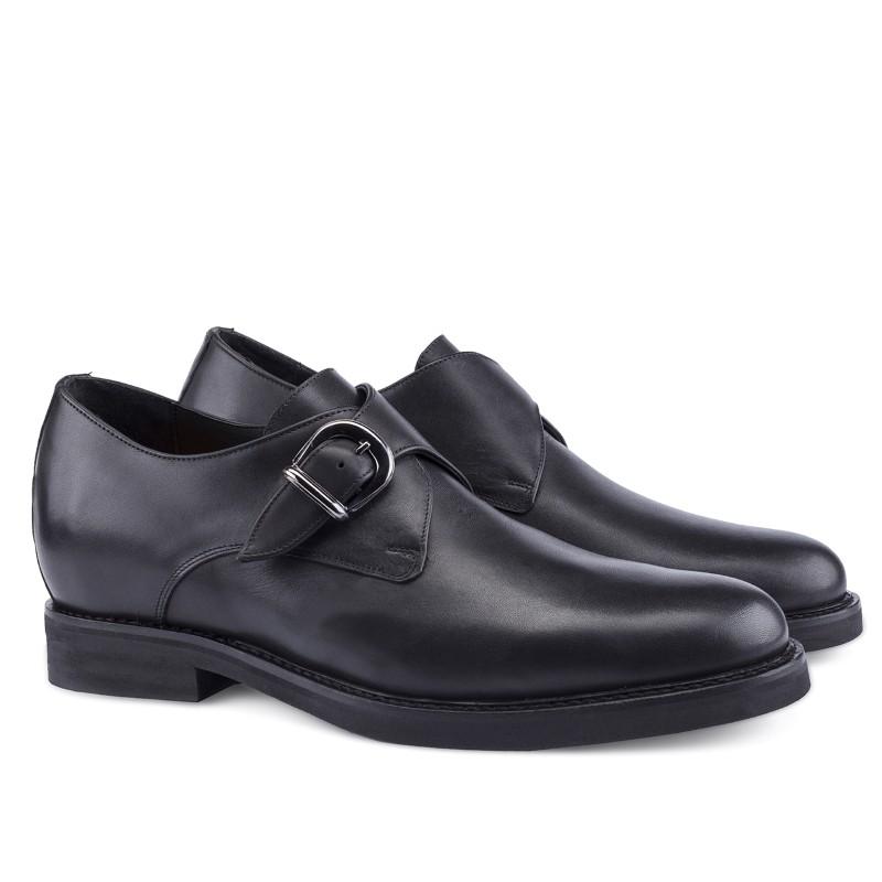 Guido Maggi Santos Full Grain Shoes Black Image