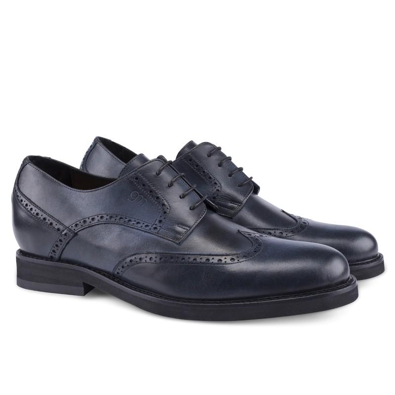 Guido Maggi Sardegna Full Grain Shoes Blue Burnished Image