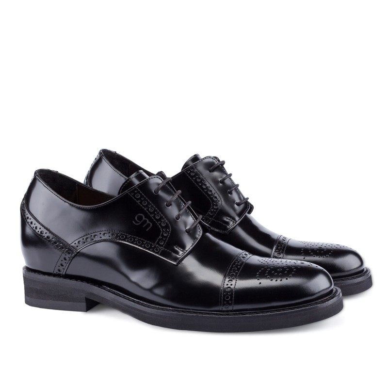 Guido Maggi Toscana Calfskin Shoes Black Image