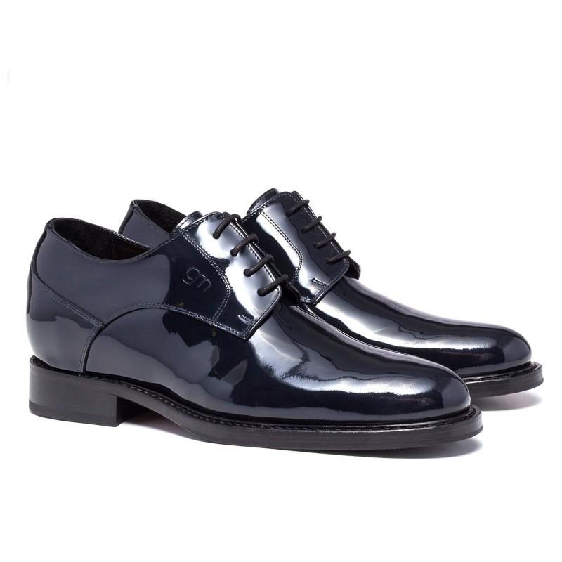Guido Maggi Via della Spiga Calfskin Leather Shoes Black Image
