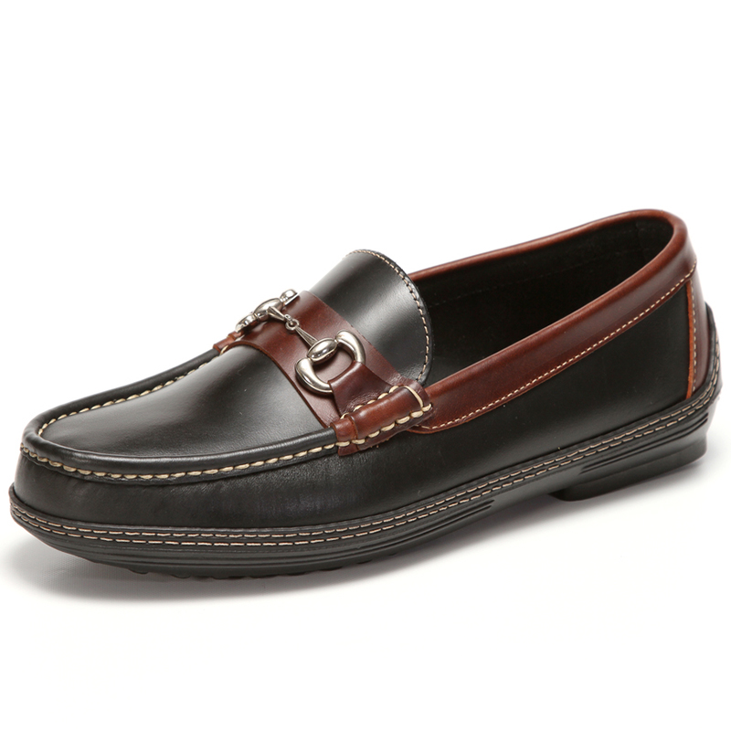 Handsewn Shoe Co. Bit Driver Black / Brown Image
