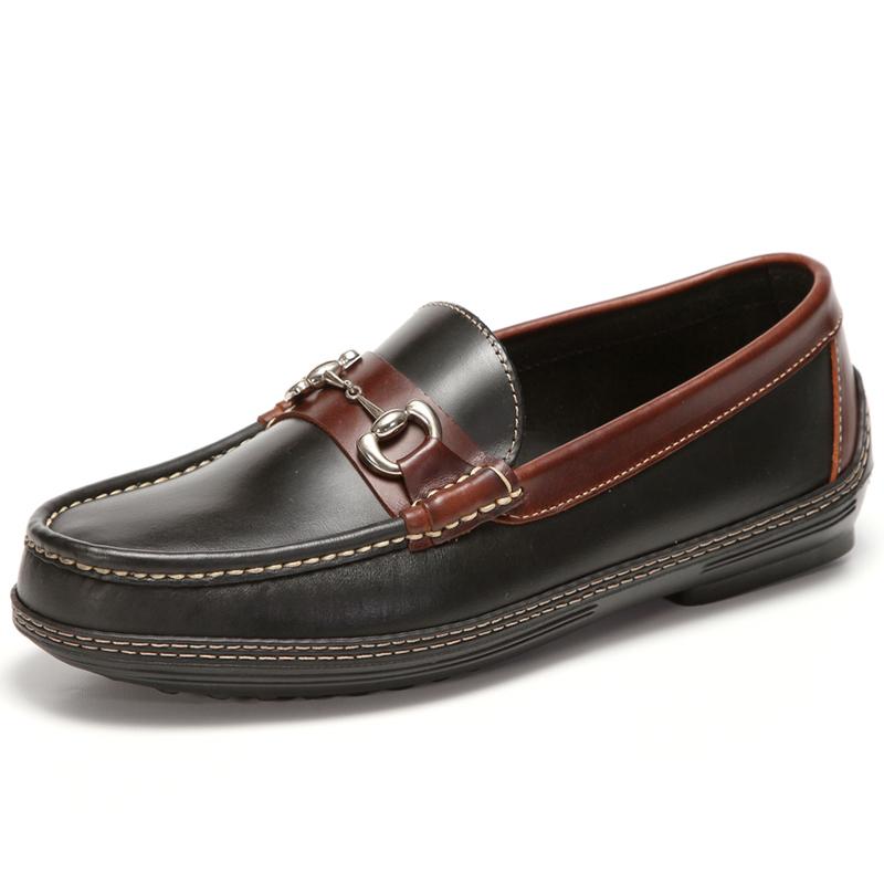 Handsewn Shoe Co. Bit Driver Black / Brown Image