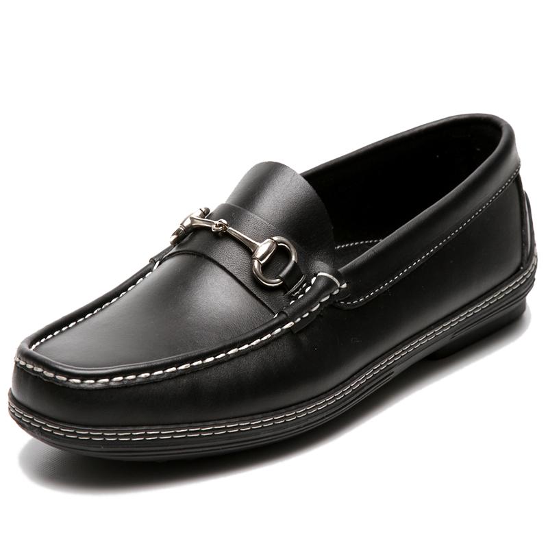 Handsewn Shoe Co. Bit Driver Black Image