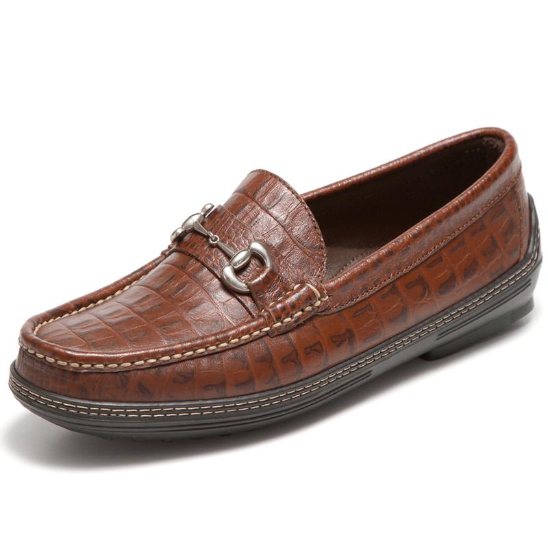 Handsewn Shoe Co. Bit Driver Croco Image