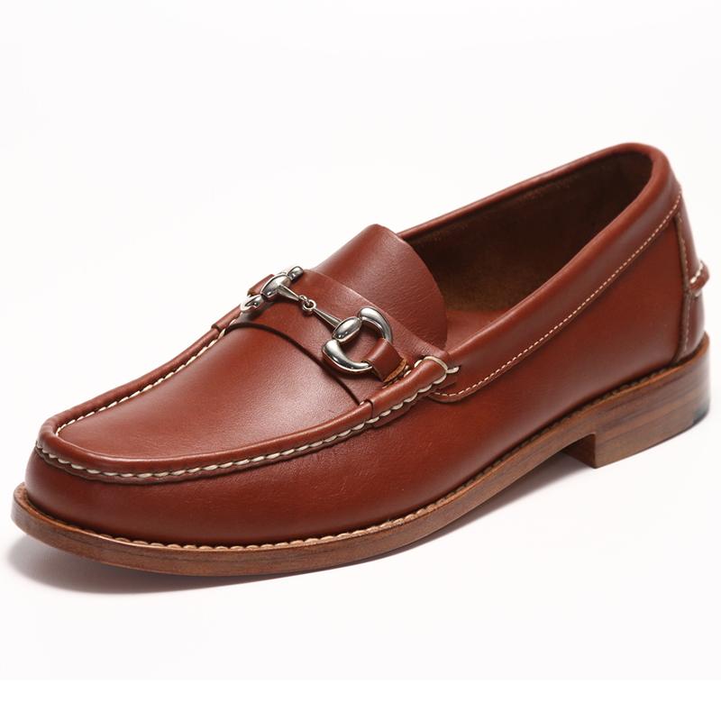 Handsewn Shoe Co. Bit Loafer Brown Image