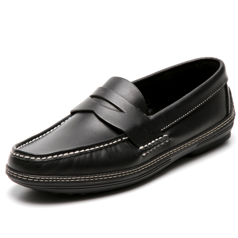 Handsewn Shoe Co. Penny Driver Black Image