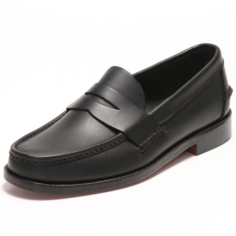 Handsewn Shoe Co. Penny Loafer Black Image