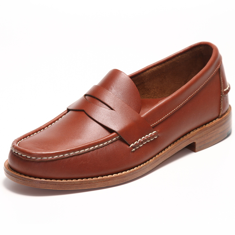 Handsewn Shoe Co. Penny Loafer Brown Image