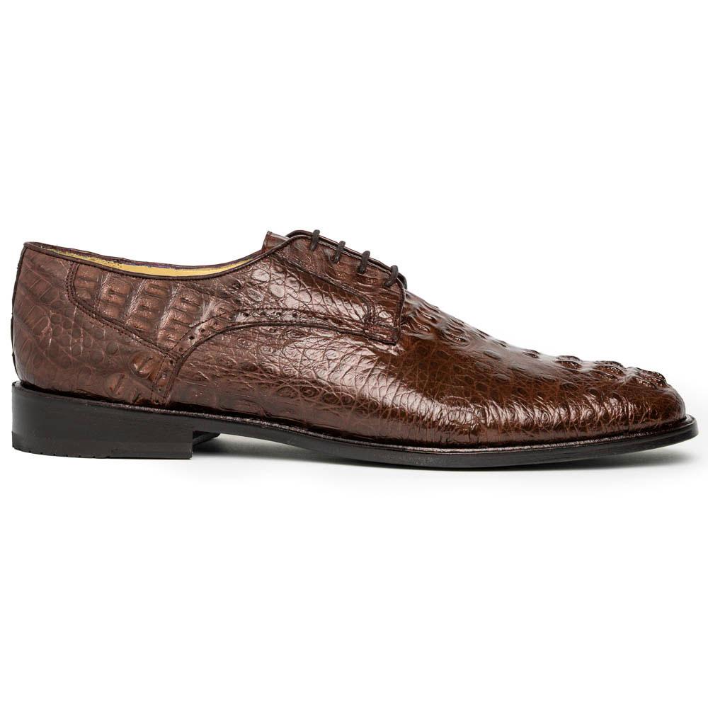 Los Altos Caiman Hornback Shoes Brown Image