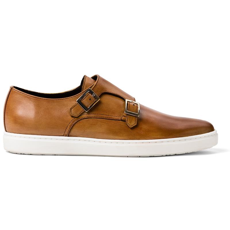G. Brown Jaxon Double Monk Strap Sneaker Almond Image