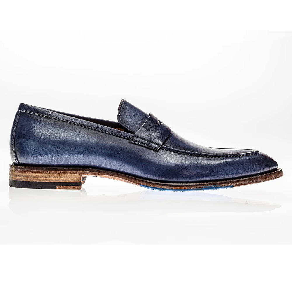 Jose Real Amberes Loafers Deep Blue Image