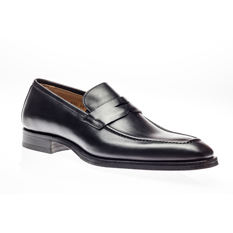 Jose Real Amberes Penny Loafers Black Image