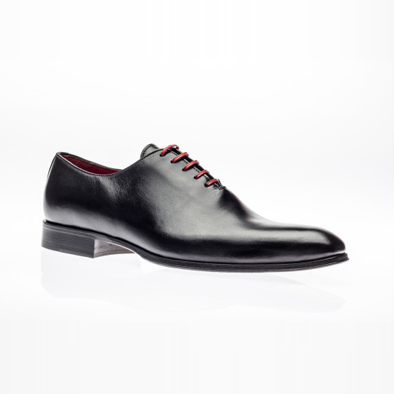 Jose Real Basoto Wholecut Oxfords Black Image