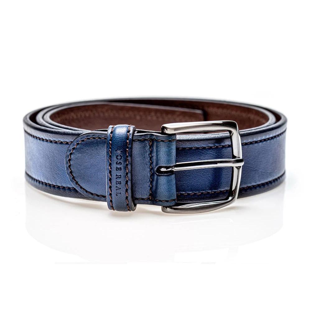 Jose Real Belt Indigo Blue Image