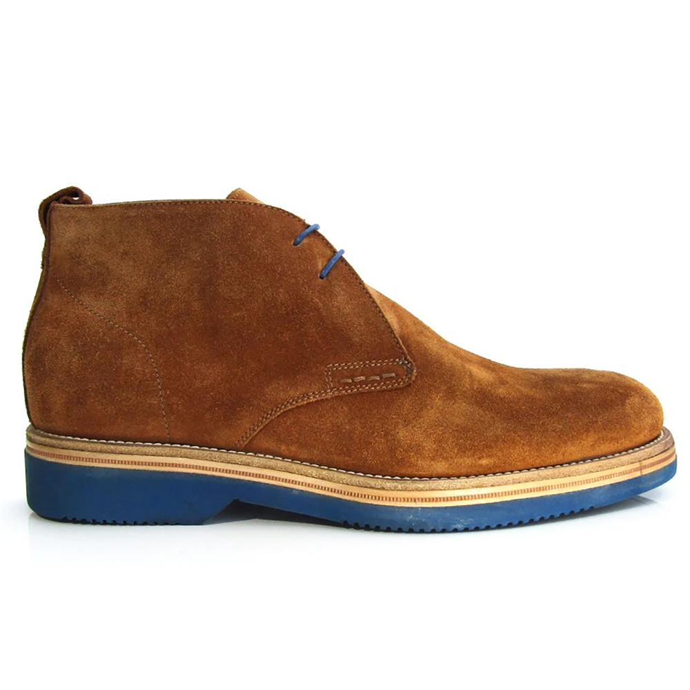 Jose Real Forte Ankle Boots Velour Whisky Image