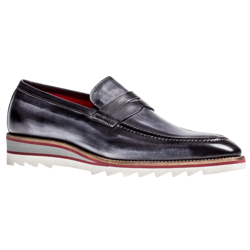 Jose Real H605-IN Penny Loafers Antracite Image