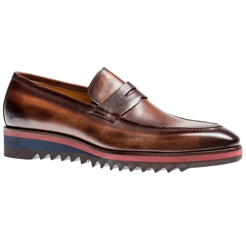 Jose Real H605-Z Penny Loafers Marrone Image