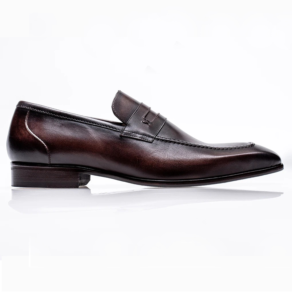 Jose Real Mastrich Penny Loafers Ebano Image