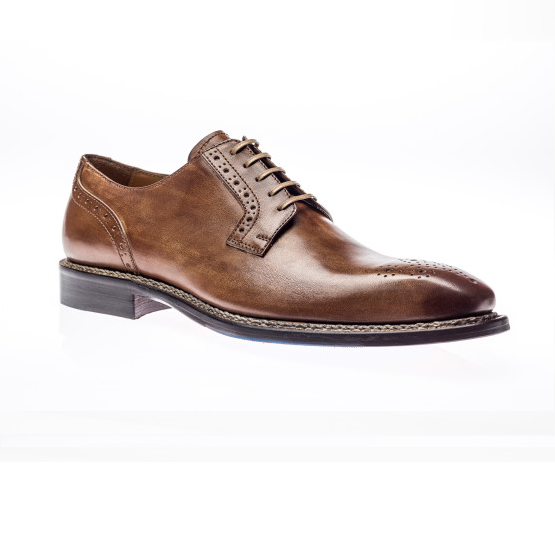 Jose Real Nordve Derby Shoes Cuoio Image