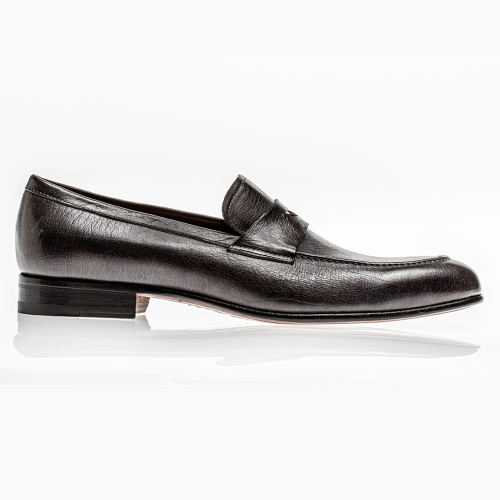 Jose Real Teatriz Penny Loafers Carbonio Image