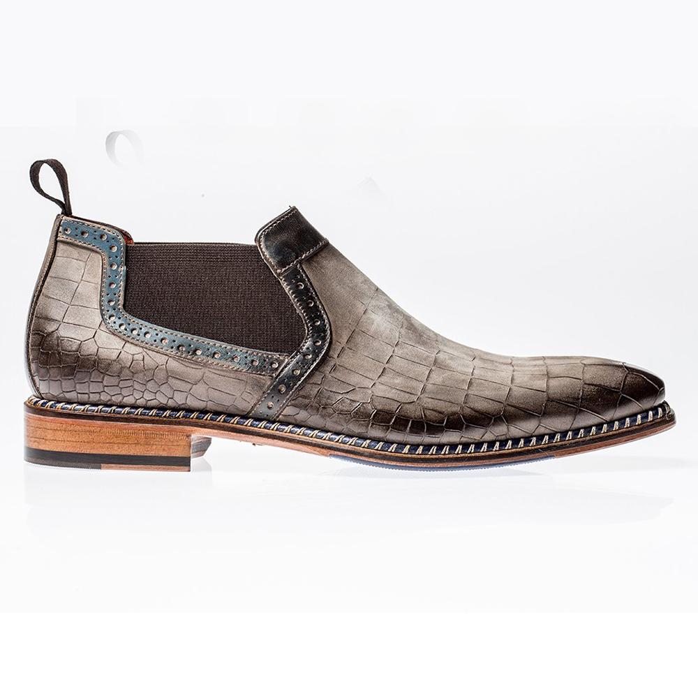 Jose Real Veloce Chelsea Boots Nabuk Cocco Corteccia Royar Image
