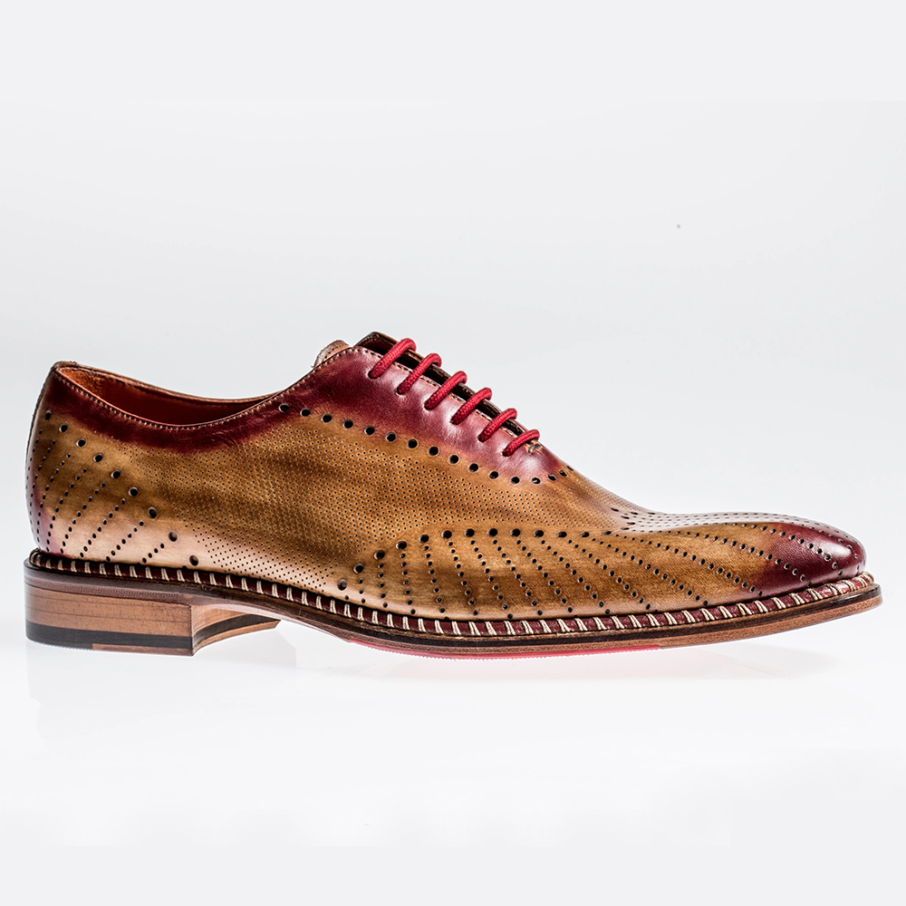 Jose Real Veloce Oxfords Cuoio England Image