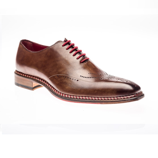 Jose Real Veloce Oxfords Cuoio Rosso Image