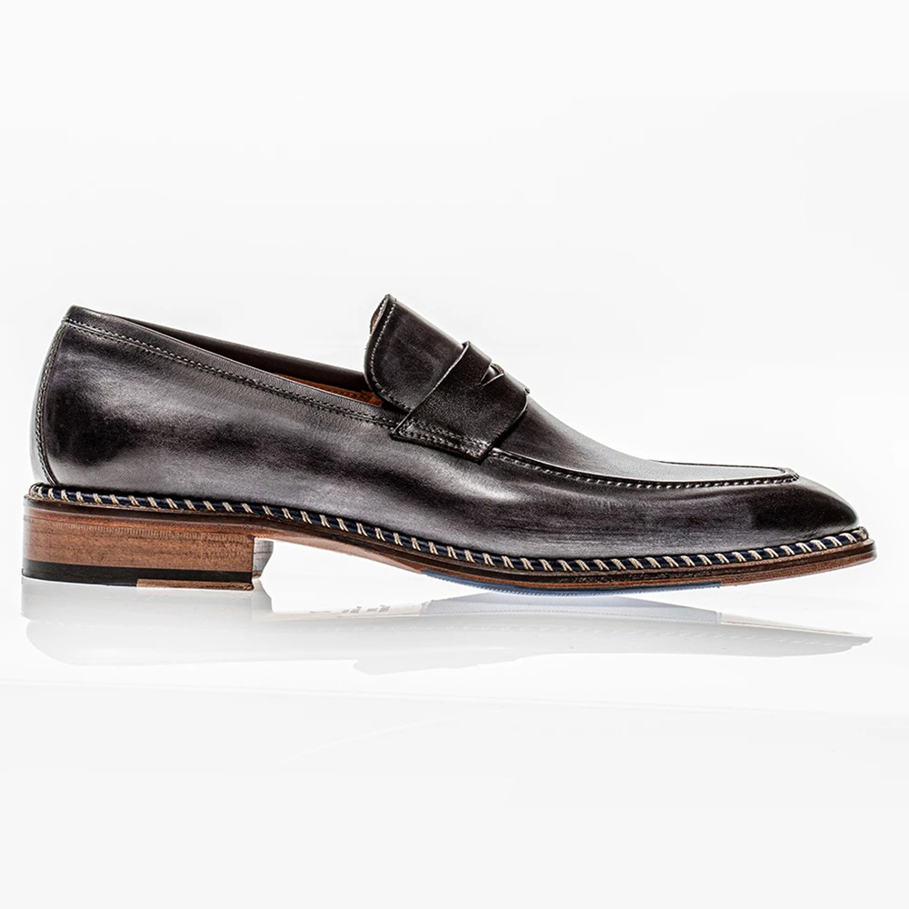 Jose Real Veloce Slip-on Loafers Antracite Image
