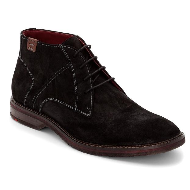 Lloyd Dalbert Suede Black Boots Image