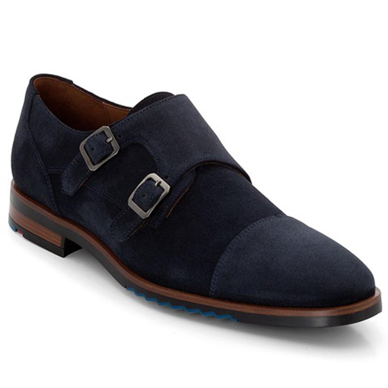 Lloyd Darrow Suede Blue Shoes Image