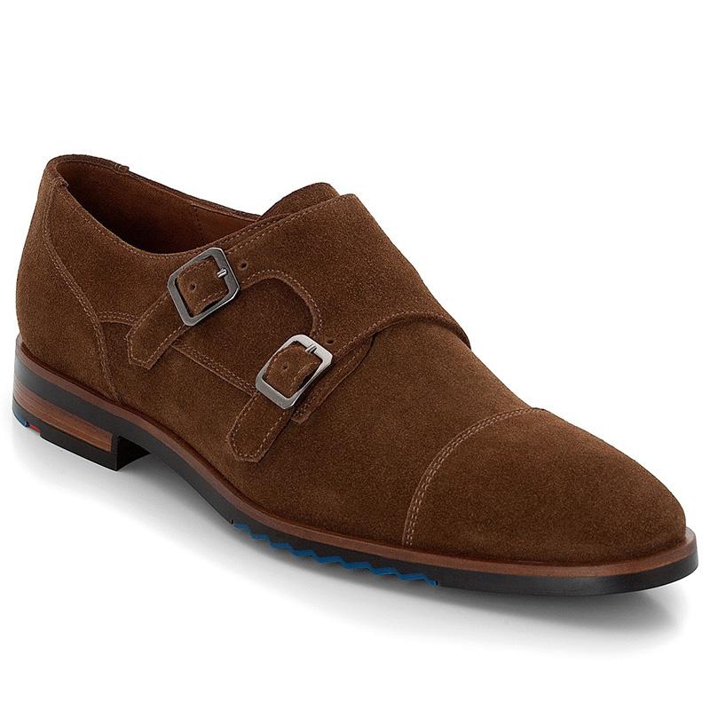 Lloyd Darrow Suede Brown Shoes Image