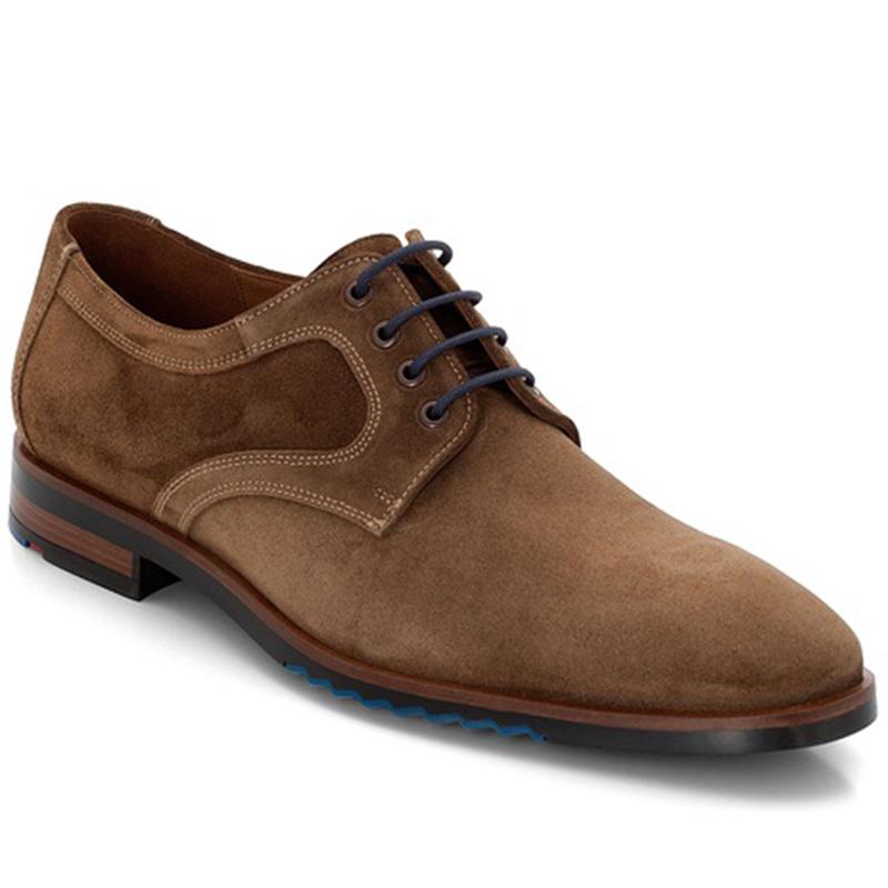 Lloyd Delft Suede Tan Shoes Image