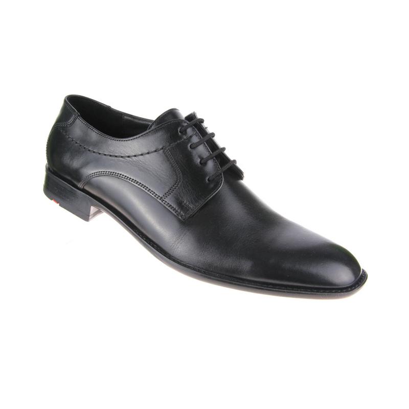Lloyd Garvin Plain Toe Shoes Black Image