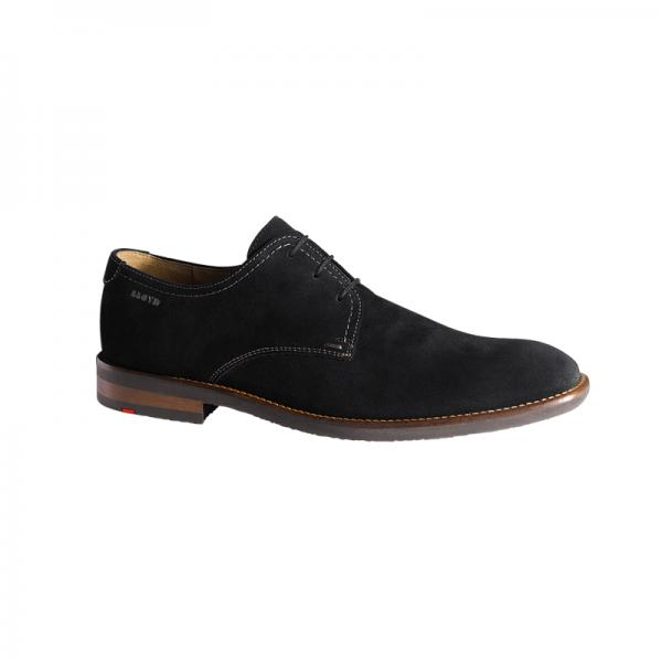 Lloyd Hel Suede Plain Toe Shoes Black Image