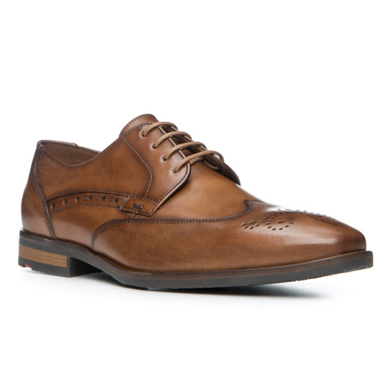 Lloyd Larry Wingtip Shoes Brown Image