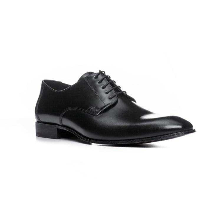 Lloyd Laurin Plain Toe Derby Shoes Black Image