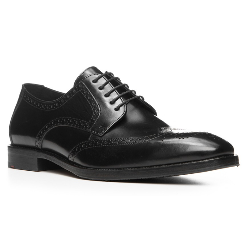 Lloyd Lucien Wingtip Shoes Black Image